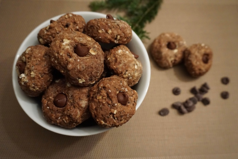 Vegan Chocolat cookies1