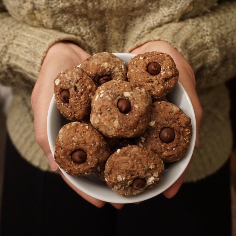 Vegan Chocolat cookies4